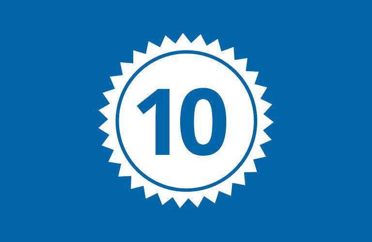 10 gute Gründe für WALDNER