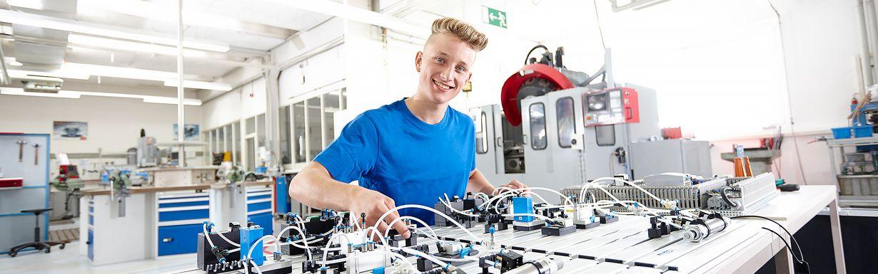 Ausbildung Industriemechaniker (m/w)