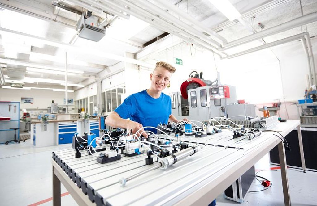 Praktikum als Industriemechaniker/-in