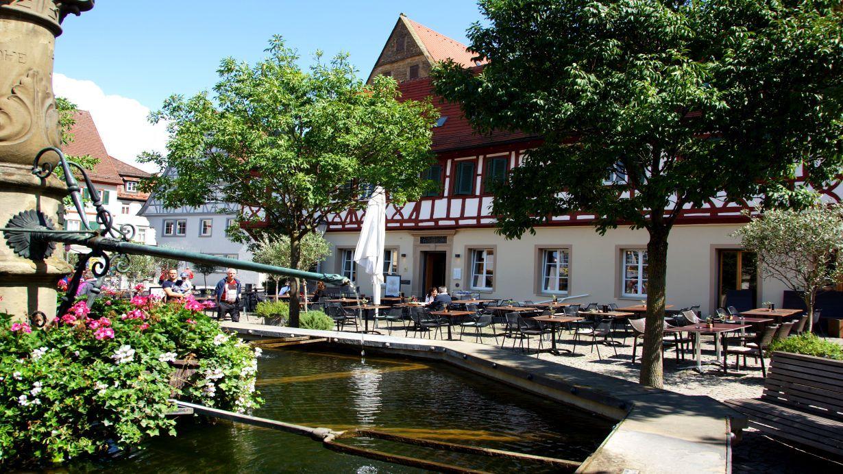 Stadtbild von Öhringen
